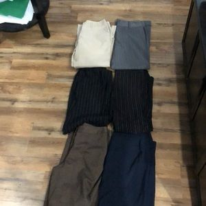 Pants - 6 pairs of dress pants